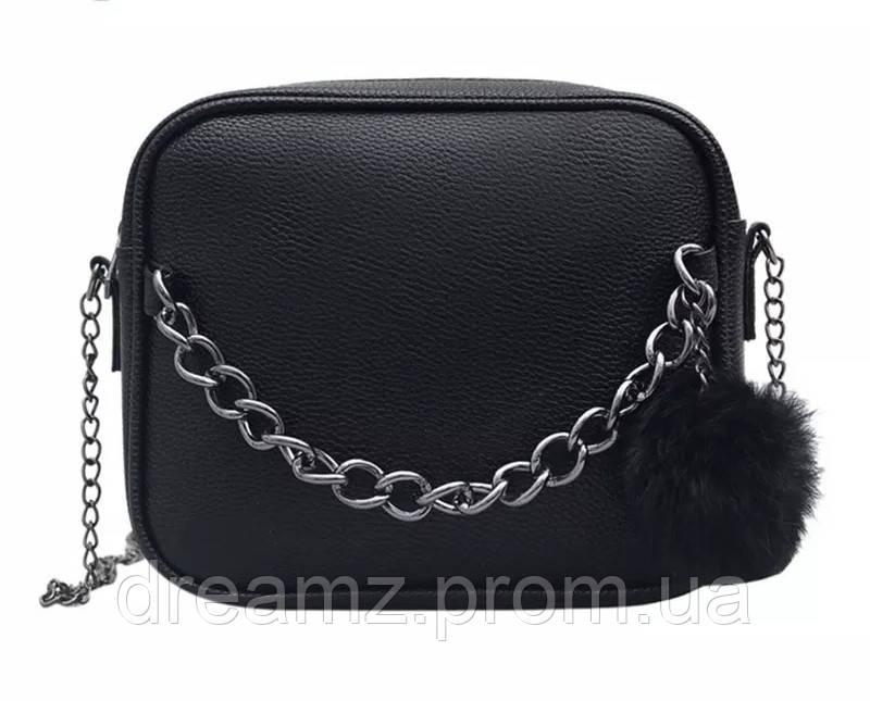4476c729d3bc Стильная женская сумка клатч черная - Интернет-магазин спортивных товаров  DreamZ в Киеве