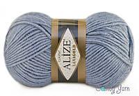 Alize Lana Gold, светлый джинс №221