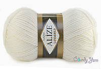Alize Lana Gold, Белый №55