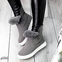 Зимние ботинки Fry