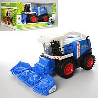 Комбайн игрушечный инерционный - разновидность сельхозтехники для коллекции машин Вашего ребенка