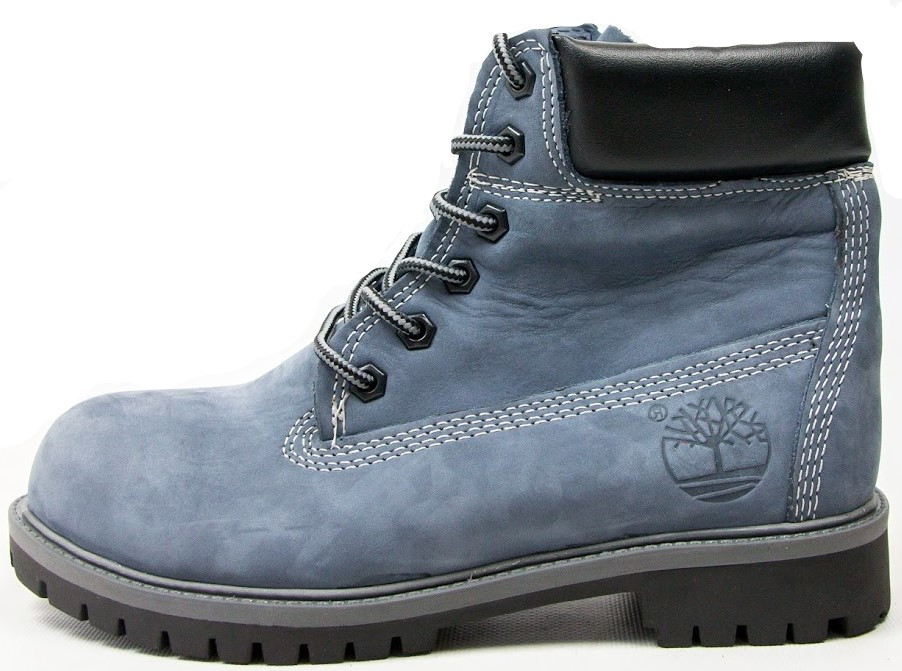 "Женские зимние ботинки Timberland ""Blue"" (в стиле Тимберленд)"