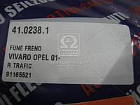 Трос ручного тормоза OPEL VIVARO,RENAULT TRAFIC, Adriauto 41.0238.1