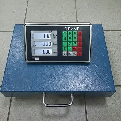 Товарные весы Олимп R1_100 кг (300х400мм) Wi-Fi