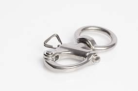 Карабин для ремня с поворотным кольцом