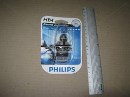 Лампа накаливания HB4BlueVisionUltra 12V 55W P22d, Philips 9006BVU+B1