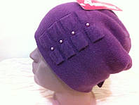 шапочка  молодежная украшенная бантами, фото 1