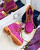 "Женские зимние ботинки Timberland ""Purple"" (в стиле Тимберленд) , фото 6"