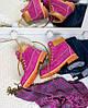 "Женские зимние ботинки Timberland ""Purple"" (в стиле Тимберленд) , фото 3"