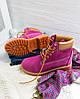 "Женские зимние ботинки Timberland ""Purple"" (в стиле Тимберленд) , фото 5"