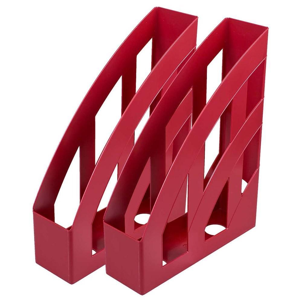 Лоток вертикальный КиП темно-красный ЛВ-01
