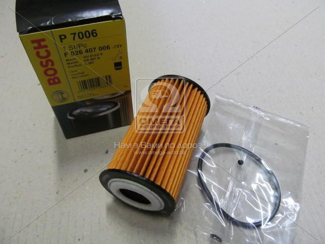 Фильтр масляный CHEVROLET; FIAT; OPEL, Bosch F 026 407 006
