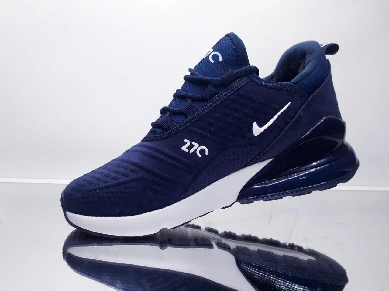 Зимові Кросівки Nike Air Max 270 Сині Репліка — в Категории ... 4d76e2f9090ff