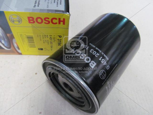 Фильтр масляный, Bosch 0 451 203 194