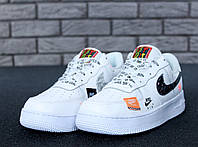 5f73d244 Мужские Кроссовки Nike Air Force 1 Low Just Do It Pack White Найк аир форс (