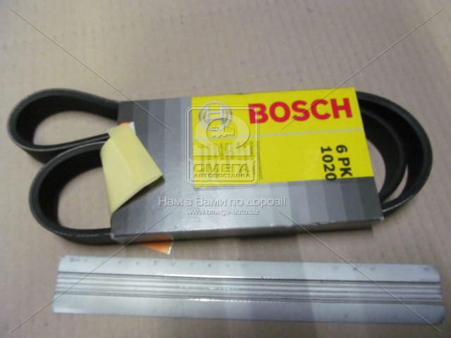 Ремень п-клиновой 6pk1020, Bosch 1 987 947 817