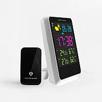 Беспроводной электронный термометр и гигрометр (метеостанция)