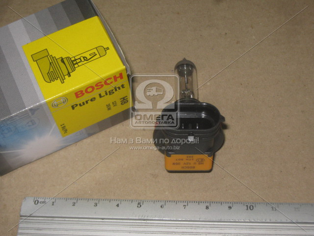 Лампа накаливания  H8 12V 35W PGJ19-1 PURE LIGHT, Bosch 1 987 302 081