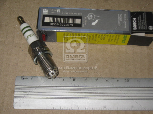 Свеча fgr7kqe0 ni-y, Bosch 0 242 235 715
