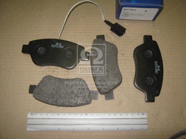 Колодка торм. FIAT FIAT DOBLO передн., SANGSIN SP1201