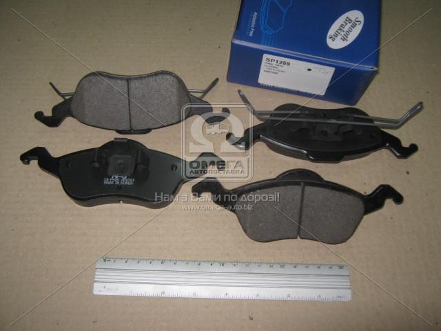 Колодка торм. FORD FOCUS передн., SANGSIN SP1259