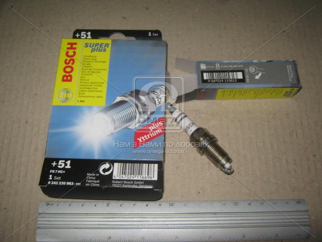 Свеча fr 7 hc+ к-т 4шт., Bosch 0 242 235 983