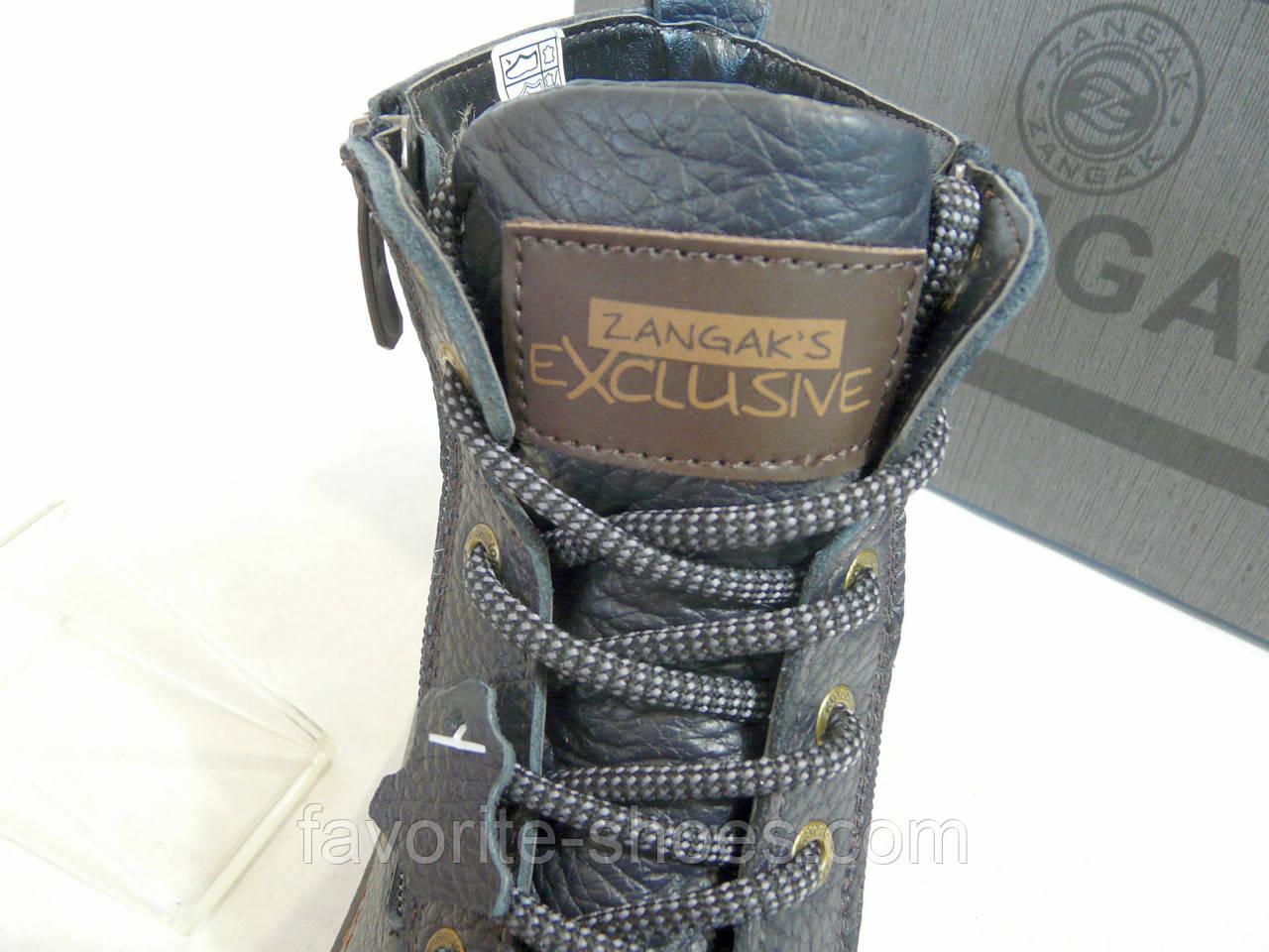 a46d2ab6c Зимние ботинки подросток zangak стиль ecco синий: продажа, цена в ...