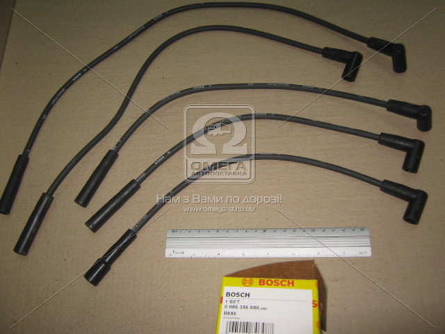 Провода высоковольтные компл., Bosch 0 986 356 886