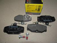 Торм колодки дисковые, Bosch 0 986 469 810