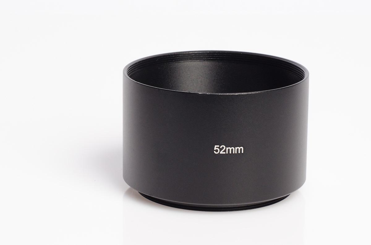 Бленда Ynniwa металлическая длиннофокусная резьбовая 52 мм