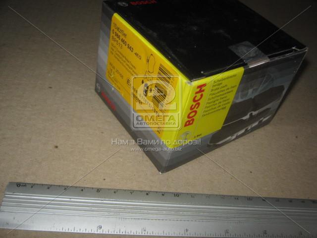Колодка торм. SEAT CORDOBA 6K2/C2, IBIZA II 6K1, VW GOLF II передн., Bosch 0 986 460 943