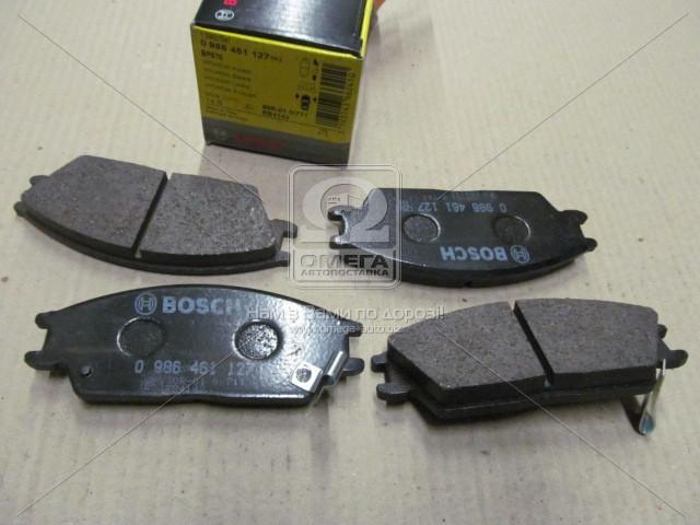 Торм колодки дисковые, Bosch 0 986 461 127