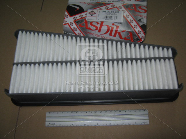 Фильтр воздушный TOYOTA LAND CRUISER, ASHIKA 20-02-266
