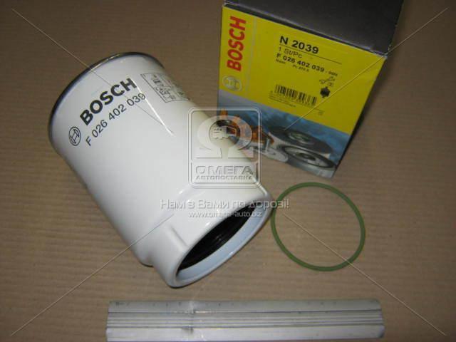 Элемент фильт. топл. сепаратора КАМАЗ ЕВРО-2, BOSCH F 026 402 039