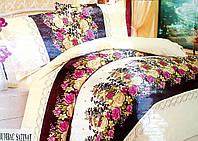 Атласное постельное белье двухспальное