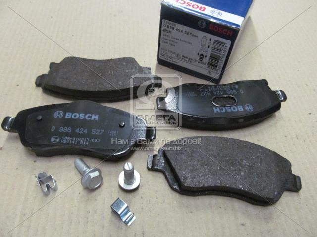 Торм колодки дисковые, Bosch 0 986 424 527