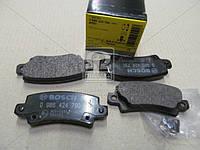 Торм колодки дисковые, Bosch 0 986 424 790