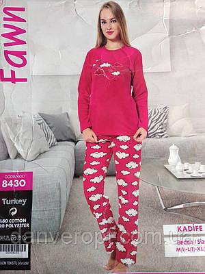 Комплект домашний женский  кофта+ штаны размер M-XL, купить оптом со склада 9ebf0c8eb71