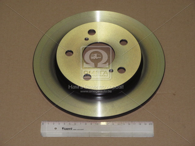 Диск тормозной, TRW DF4811