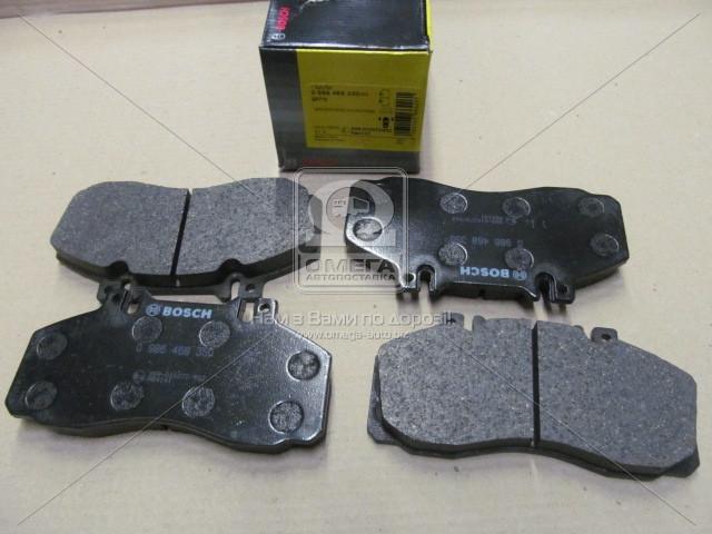 Торм колодки дисковые, Bosch 0 986 468 350