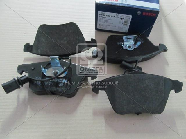 Комплект тормозных колодок, дисковый тормоз, Bosch 0 986 494 271