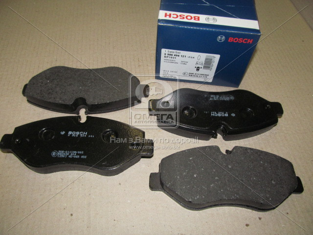 Тормозные колодки, Bosch 0 986 494 121