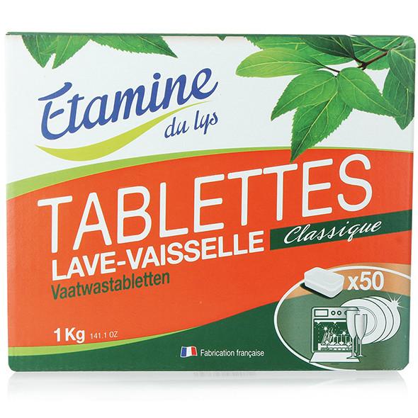 Таблетки органические для посудомоечной машины Etamine du Lys,1 кг