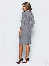 Женское платье с принтом гусинная лапка(Линда leo), фото 3