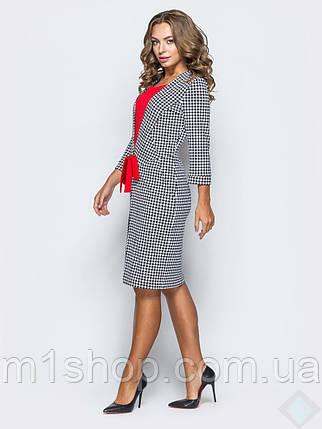 Женское платье с принтом гусинная лапка(Линда leo), фото 2