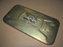 Зеркало боковое ЗИЛ 130 плоское метал.корп 130В-8201052