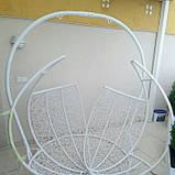 Гойдалка кокон двомісна біла, фото 4