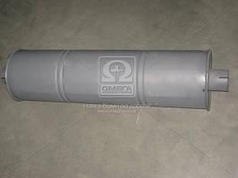 Глушитель ГАЗ 3302 закатной горловина центр D=63 мм, Украина 33078-1201010