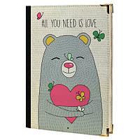 Ежедневник All You need is Love А5 (EG_16L013)