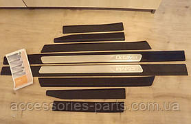 Накладки на пороги Skoda Octavia A5 2004-2013 Новые Оригинальные